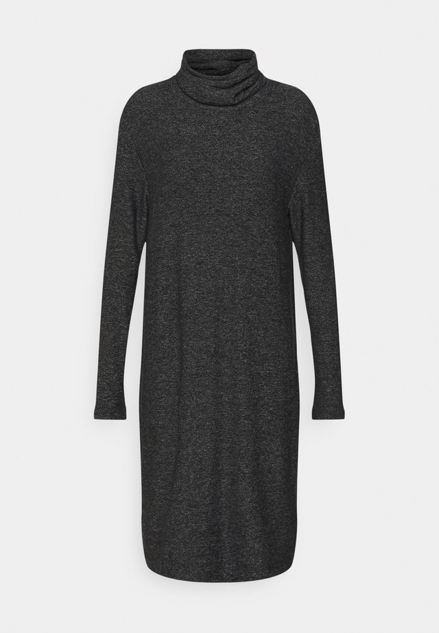 ROLL NECK DRESS - Neulemekko - grey