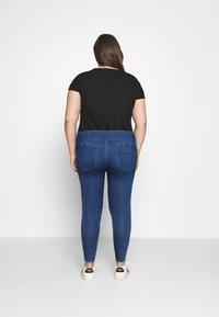 CAPSULE by Simply Be - SCULPTING SKINNY JEGGINGS - Jeans Skinny Fit - mid blue - 2