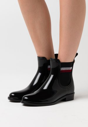 CORPORATE ELASTIC RAINBOOT - Stivali di gomma - black