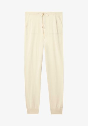 Tracksuit bottoms - crema