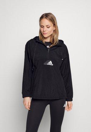 Sportovní bunda - black/white