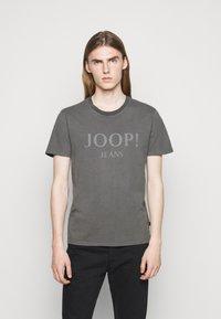 JOOP! Jeans - AMBROS  - Print T-shirt - dark grey - 0