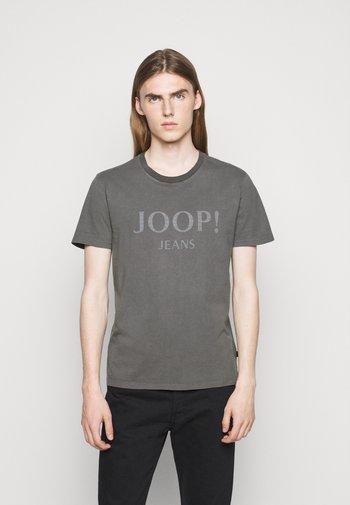 AMBROS  - Print T-shirt - dark grey