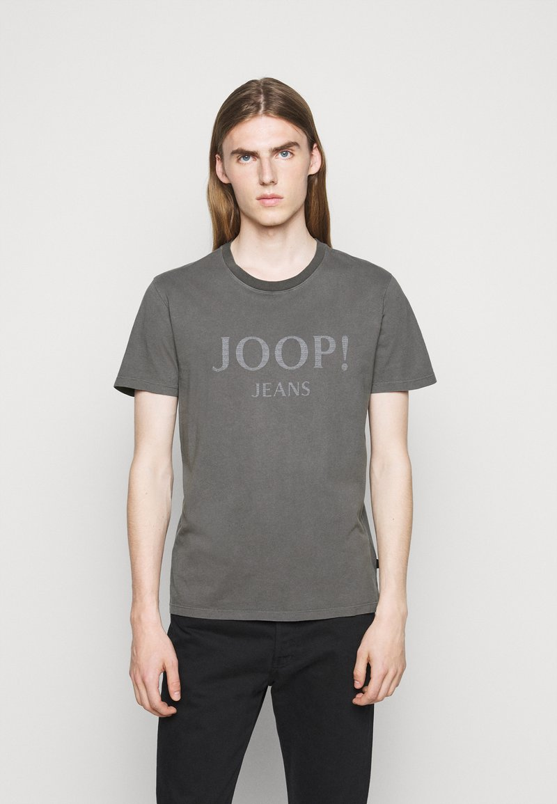 JOOP! Jeans - AMBROS  - Print T-shirt - dark grey