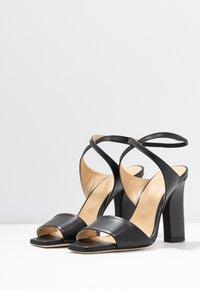Aeyde - GABRIELLA - Korolliset sandaalit - black - 4