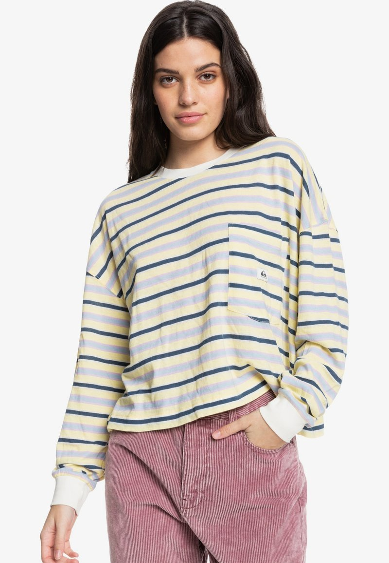 Quiksilver - HIGH HERITAGE - Long sleeved top - chardonnay high heritage