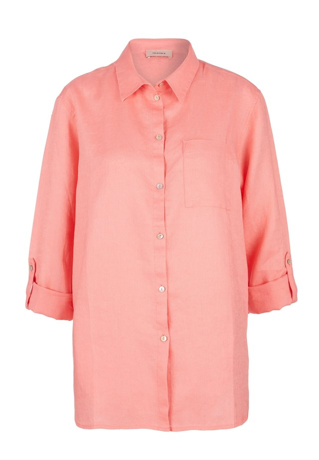 Button-down blouse - sugar coral