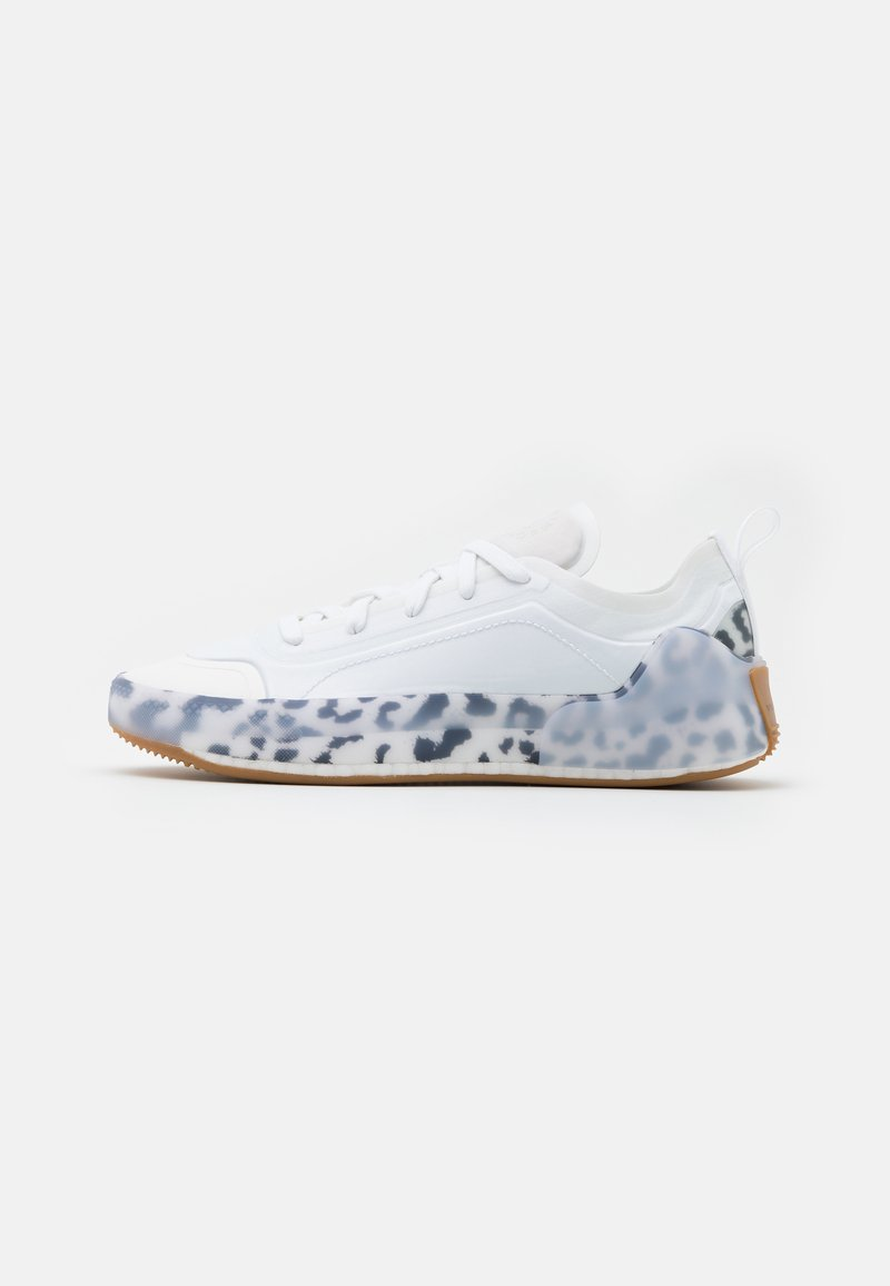 adidas by Stella McCartney - TREINO S. - Treningssko - footwear white/core black/signal orange