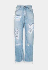 Pinko - MADDIE MOM VINTAGE - Straight leg jeans - blue denim - 0