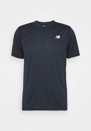 ACCELERATE SHORT SLEEVE - Print T-shirt - eclipse