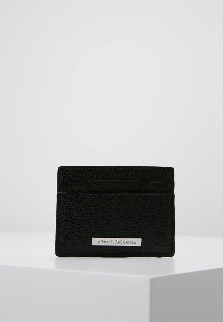 Armani Exchange - MINUTERIA PELLETT - Wallet - black