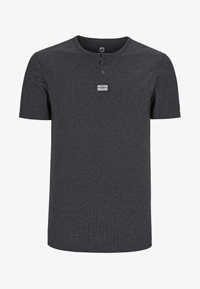 LINDRAD - Basic T-shirt - anthrazit melange