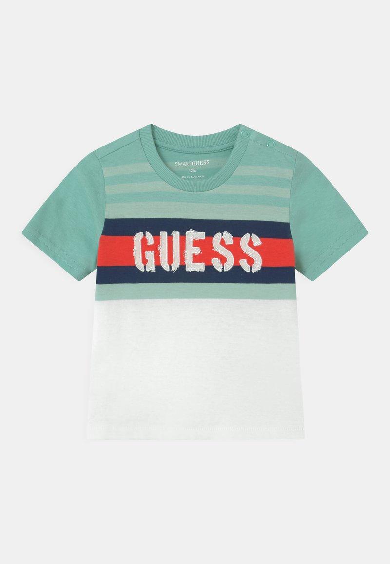 Guess - Print T-shirt - mint