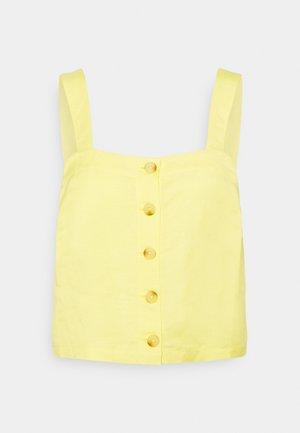 ELVA  - Top - gelb