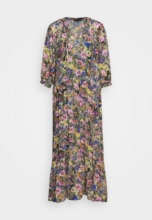 SLFMADISON 3/4  ANKLE DRESS - Košilové šaty - multi-coloured