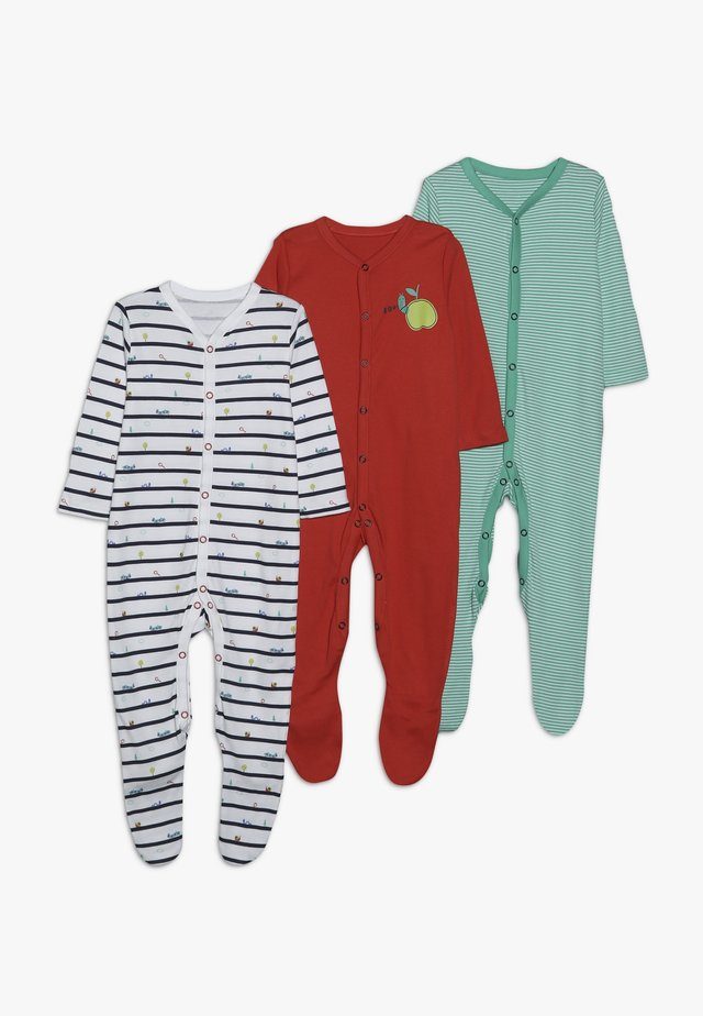 BABY LITTLE BUGS SLEEPSUITS 3 PACK - Pyjama - brights multi