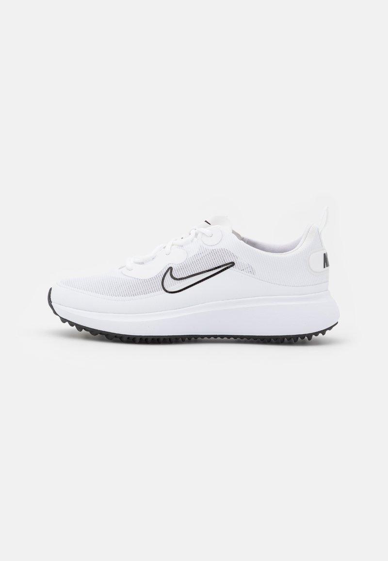 Nike Golf - ACE SUMMERLITE - Golf shoes - white/black