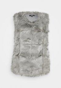 Missguided - BUBBLE GILET - Waistcoat - light grey - 0