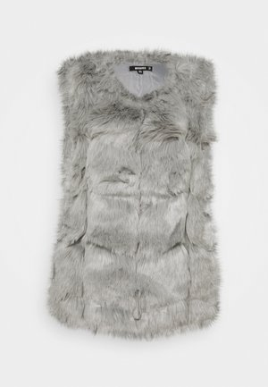 BUBBLE GILET - Waistcoat - light grey