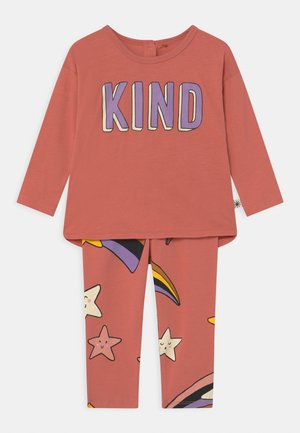 KIND SET - Leggings - Trousers - dusty coral