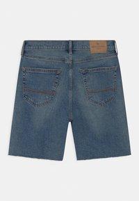 Abercrombie & Fitch - Shorts vaqueros - blue - 1