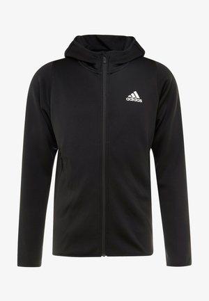 WARM HOODIE - Zip-up hoodie - black