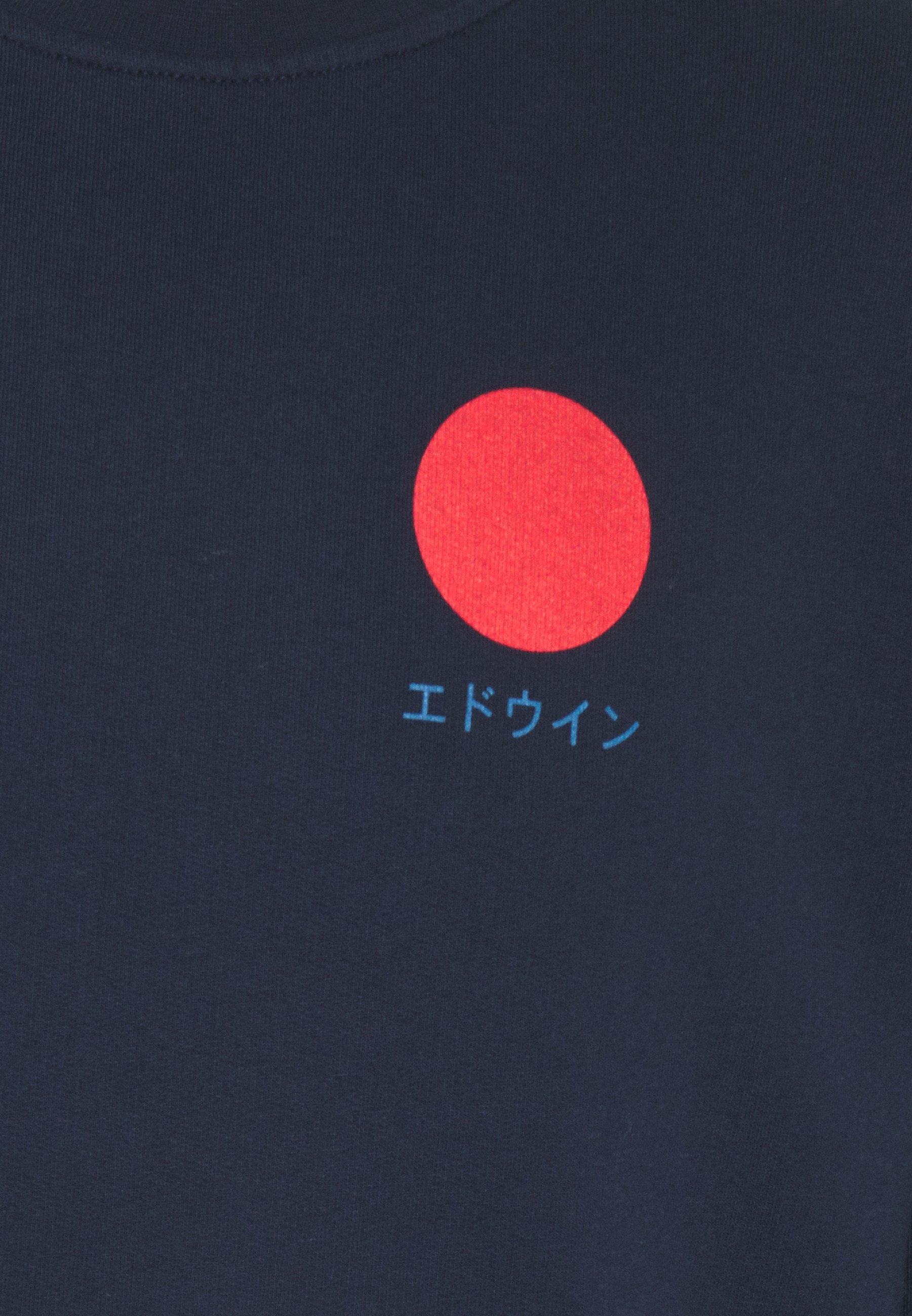 Edwin JAPANESE SUN - Sweatshirt - navy blazer
