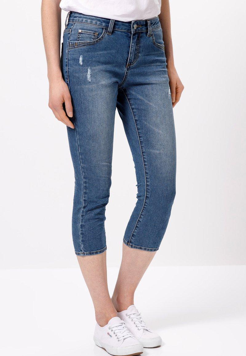 zero - Slim fit jeans - ocean blue authentic wash