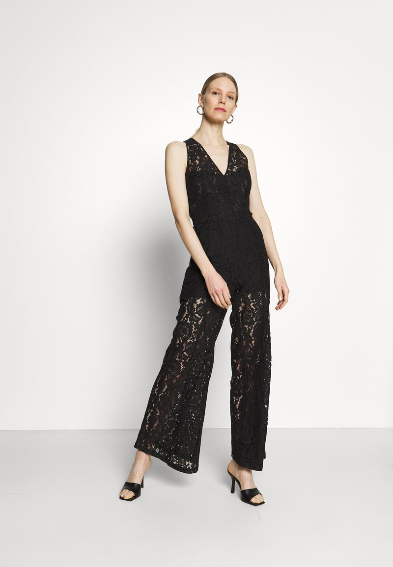 Guess - RACHAEL OVERALL - Jumpsuit - jet black