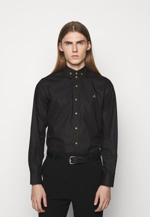 BUTTON KRALL SHIRT UNISEX - Shirt - black