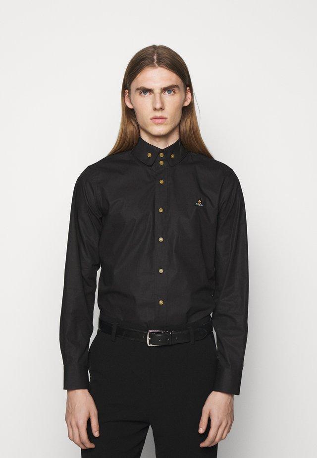 BUTTON KRALL SHIRT UNISEX - Overhemd - black