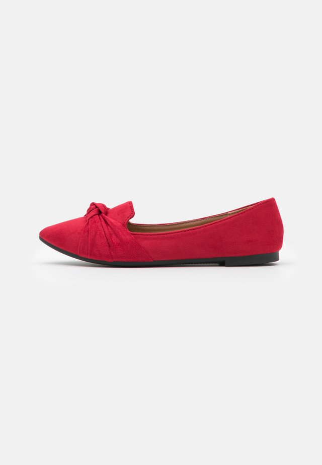 BARCELONA - Slip-ons - dark red
