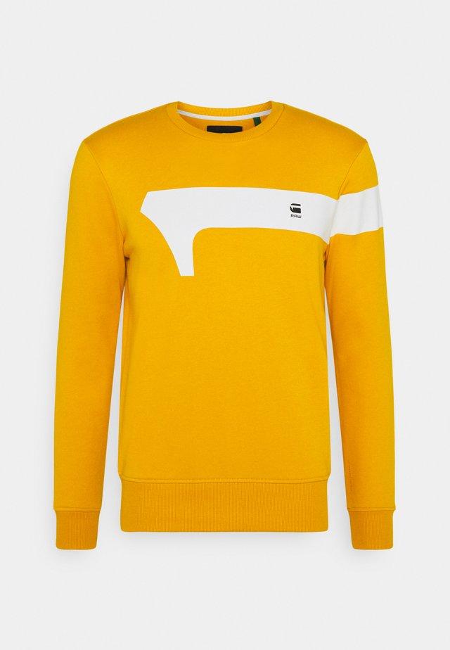 GRAPHIC  - Sweatshirt - yellow