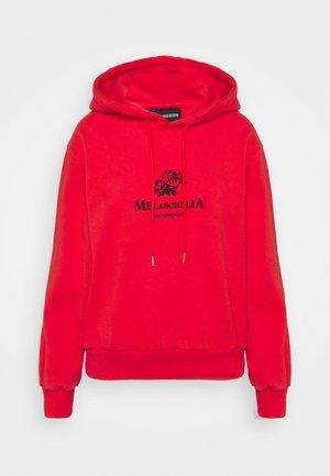 BULKY HOODIE - Sweatshirt - red