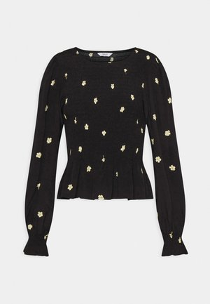 ENADAM - Long sleeved top - black