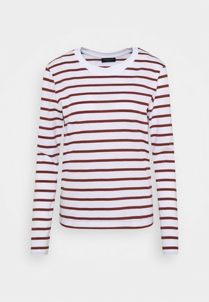 SLFSTANDARD NEW TEE - Long sleeved top - red/bright white