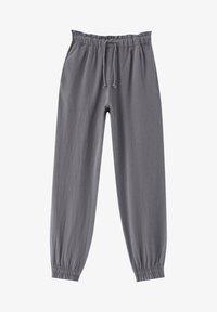 PULL&BEAR - Tracksuit bottoms - mottled light grey - 6