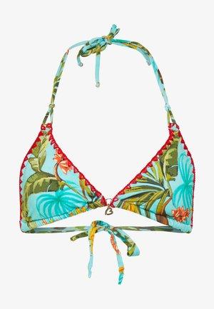 NUCO BANANAS - Bikini top - turquoise