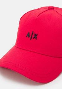 Armani Exchange - BASEBALL HAT UNISEX - Cappellino - rosso/blu/red/blue - 4
