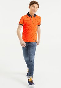 WE Fashion - Polo - orange - 1