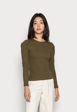 NATASHA  - Long sleeved top - dark olive