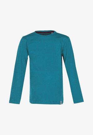 BASIC - Pitkähihainen paita - petrol