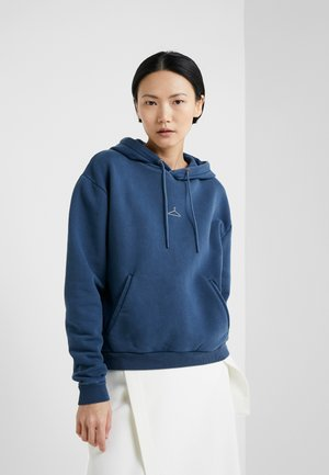 HANG ON - Hoodie - navy washed