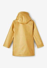 Name it - Waterproof jacket - pale gold - 1
