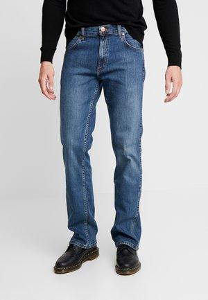JACKSVILLE - Bootcut jeans - blue denim