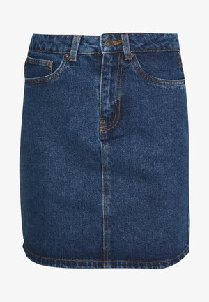 VMKATE SKIRT MIX - Jeansskjørt - medium blue
