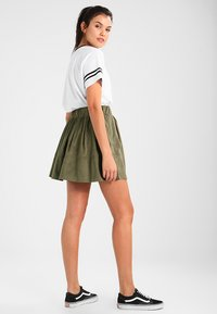 Moves - KIA - A-line skirt - dusty olive green - 2