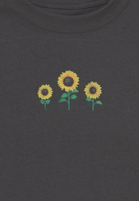 GAP - GIRL - T-shirt imprimé - soft black - 2