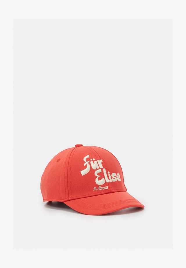 FÜR ELISE CAP - Cap - red