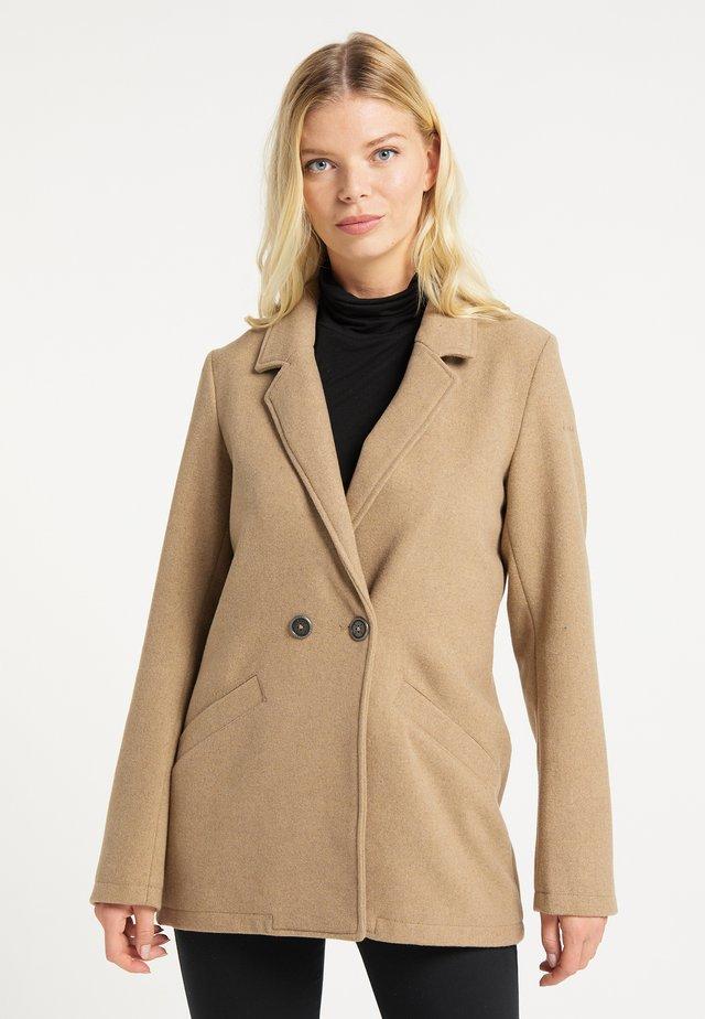 Manteau court - beige melange